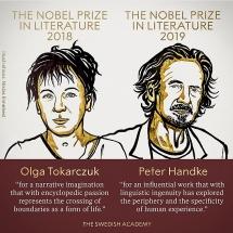 Hai tác giả Áo, Ba Lan giành giải Nobel Văn học 2018 và 2019