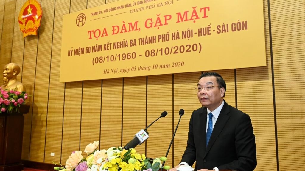 Tình cảm keo sơn gắn bó giữa Hà Nội - Huế - Sài Gòn tạo nên sức mạnh to lớn suốt chiều dài lịch sử