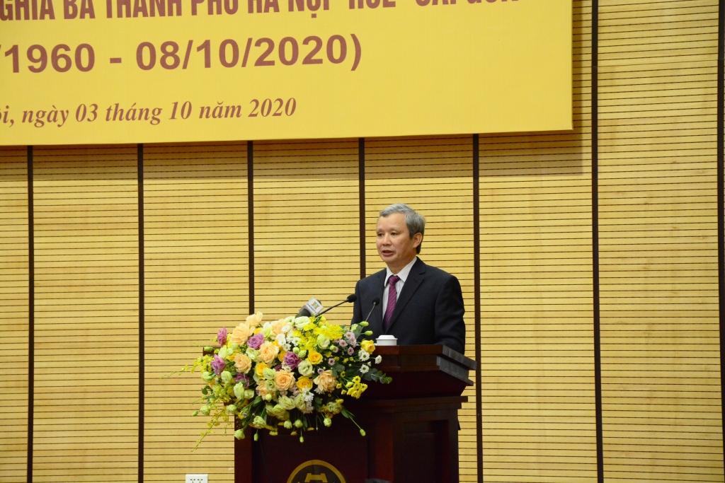 Bí thư Tỉnh ủy, Chủ tịch HĐND tỉnh Thừa Thiên Huế Lê Trường Lưu phát biểu tại chương trình