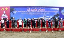Khởi công tổ hợp 3 dự án hạ tầng chào mừng Đại hội Đảng bộ thành phố