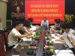 Rà soát, bảo đảm an ninh phục vụ Đại hội lần thứ XVII Đảng bộ thành phố Hà Nội