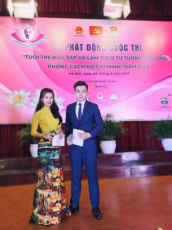 MC Mạnh Hùng mang tài năng cống hiến cho công tác Đoàn, Hội
