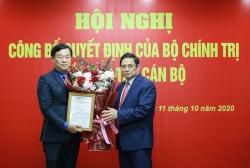 Anh Lê Quốc Phong được giới thiệu để bầu Bí thư Tỉnh ủy Đồng Tháp