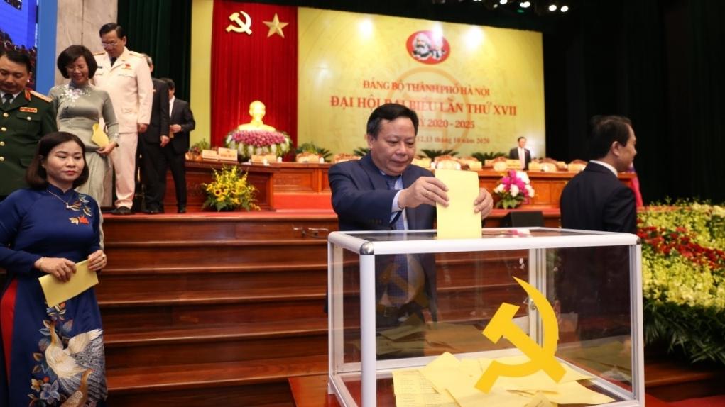 Hà Nội: 60 đại biểu được bầu đi dự Đại hội Đảng toàn quốc lần thứ XIII