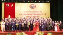 Ban Chấp hành Đảng bộ TP Hà Nội khóa XVII ra mắt Đại hội