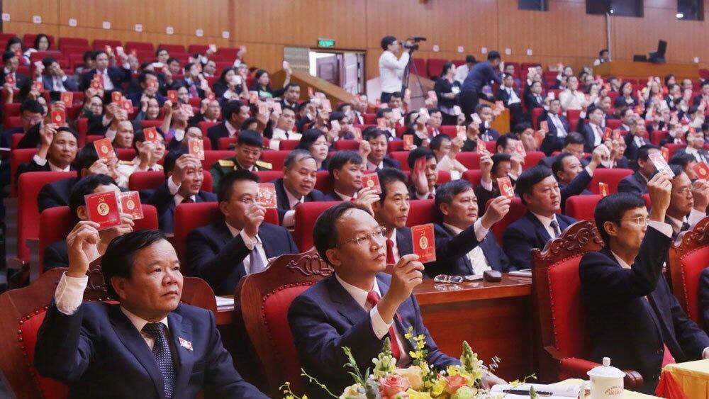 Bế mạc Đại hội Đảng bộ tỉnh Bắc Giang lần thứ XIX, nhiệm kỳ 2020 - 2025