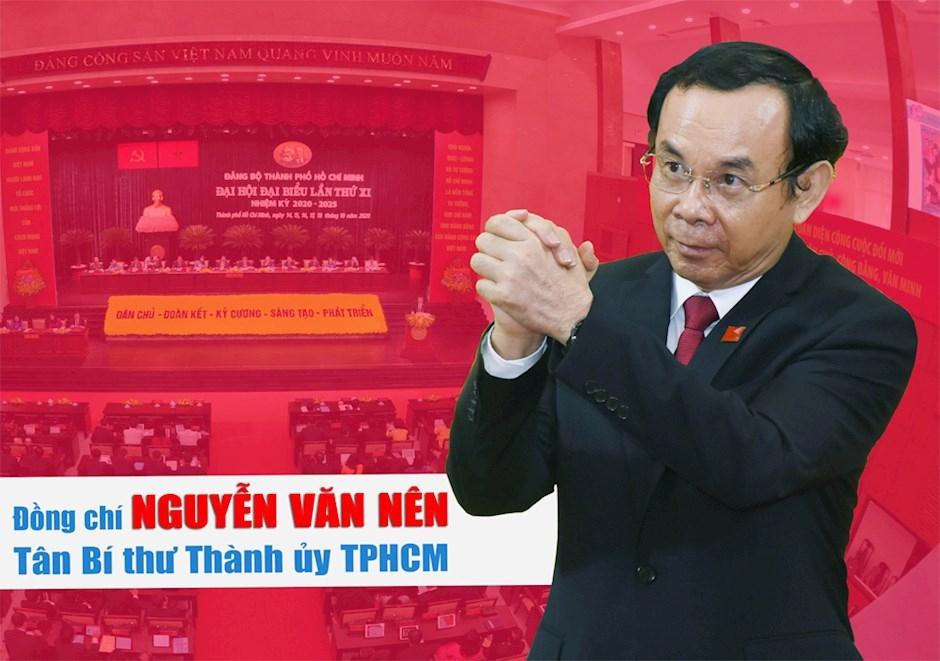 Đồng chí Nguyễn Văn Nên được bầu làm Bí thư Thành ủy TP HCM