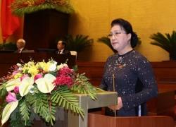 Quốc hội chia sẻ những đau thương, mất mát với Nhân dân miền Trung