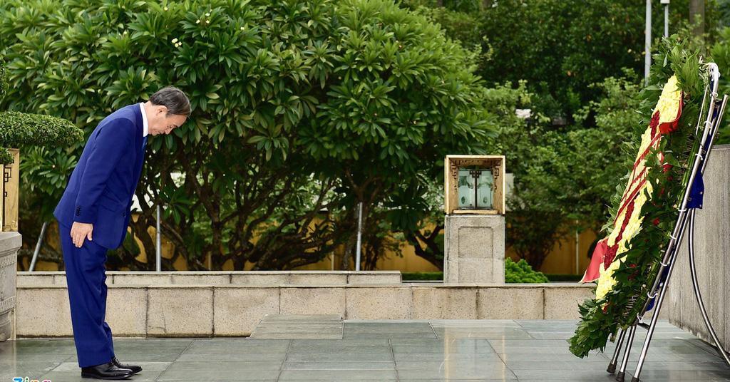 Nhìn lại hoạt động của Thủ tướng Nhật Bản Suga Yoshihide trong 2 ngày tại Việt Nam