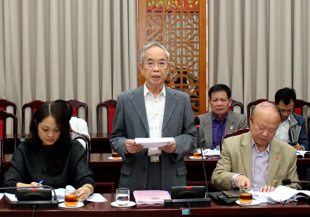 Đại biểu nêu ý kiến tại buổi tọa đàm