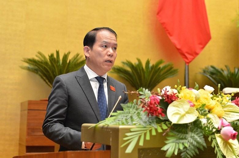 Chủ nhiệm Ủy ban Pháp luật của Quốc hội Hoàng Thanh Tùng. Ảnh: Quốc hội