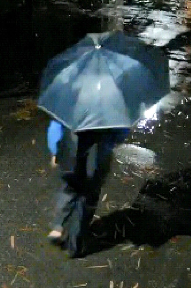 Truy tìm tên cướp cầm ô đi gây án trong đêm tối tại Đông Anh ảnh 2