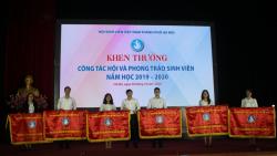 Tổng kết công tác Đoàn - Hội và phong trào sinh viên khối trường năm học 2019 - 2020