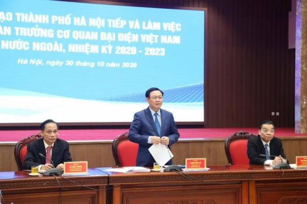 Đưa Hà Nội trở thành thành phố kết nối toàn cầu