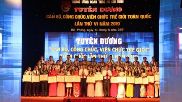Tuyên dương 56 cán bộ, công chức, viên chức trẻ giỏi toàn quốc