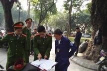 Xử lý nghiêm các điểm trông giữ xe vi phạm tại phố cổ quận Hoàn Kiếm