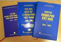 sua doi de cuong ke hoach bien soan xuat ban lich su chinh phu viet nam