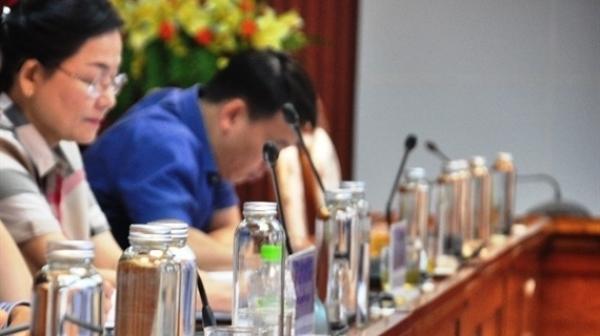 Từ hôm nay (1/11), Hà Nội giảm chất thải nhựa tại nơi công sở