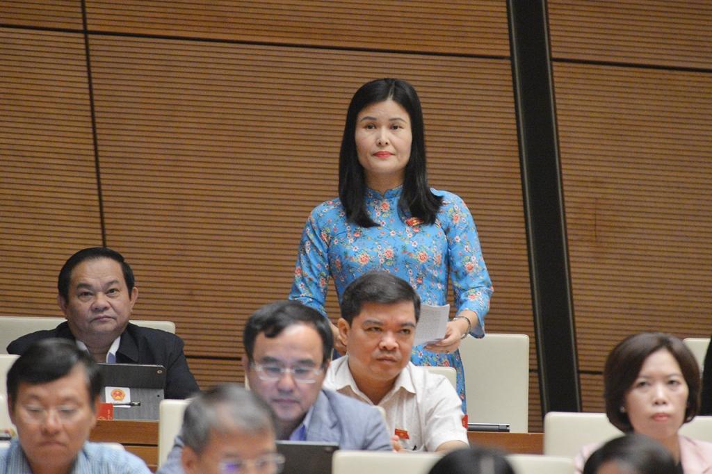 Đại biểu Bùi Thị Quỳnh Thơ