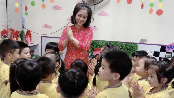 Hạnh phúc khi thấy con trẻ vui đến trường