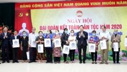 Chủ tịch UBND thành phố Chu Ngọc Anh dự Ngày hội Đại đoàn kết toàn dân phường Nam Đồng