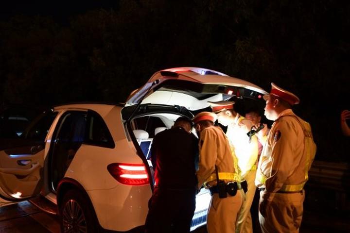 Phát hiện 373 lái xe dương tính với ma túy trong 2 tháng qua