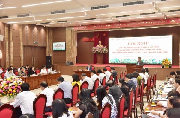 Góp ý hoàn thiện quy định chuẩn về Trung tâm Chính trị cấp huyện
