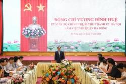 Bí thư Thành ủy Vương Đình Huệ: Đưa Hà Đông trở thành cực tăng trưởng của Thủ đô