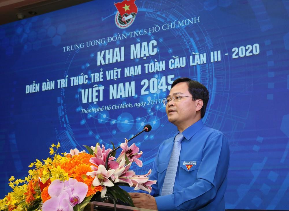 """Khai mạc diễn đàn Trí thức trẻ Việt Nam toàn cầu lần III: """"Việt Nam 2045"""""""