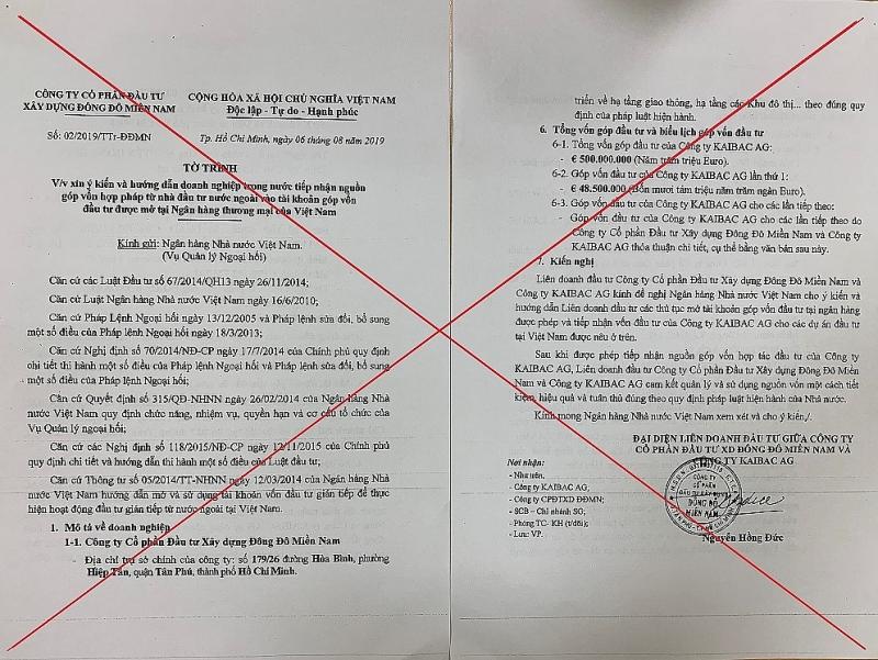 Bộ Công an cảnh báo thủ đoạn lừa đảo từ các đơn thư xin tiếp nhận hàng nghìn tỷ đồng từ nguồn vốn nước ngoài