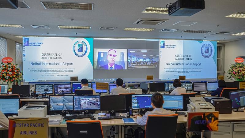 Quang cảnh của phòng AOCC tại Lễ trao chứng chỉ AHA