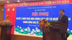 Hà Nội: Sơ kết 3 năm thực hiện chính sách đối với người có uy tín trong đồng bào dân tộc thiểu số
