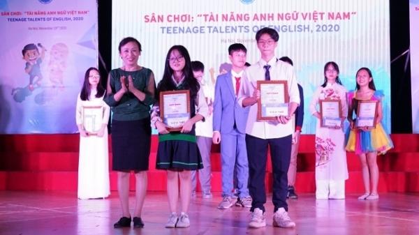 """Thiếu nhi Thủ đô thi """"Tài năng Anh ngữ Việt Nam"""""""
