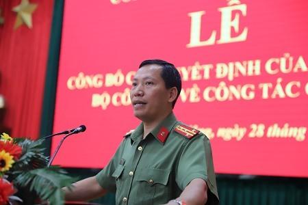 Đại tá Lê Văn Tuyến. Ảnh: CAND