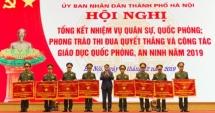 Hà Nội chỉ đạo, thực hiện tốt nhiệm vụ quân sự, quốc phòng năm 2019