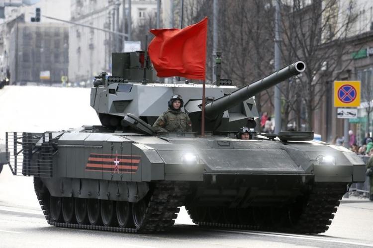 Siêu tăng đắt giá của Nga lần đầu tiên được trang bị... nhà vệ sinh