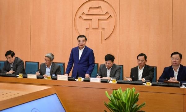 Chủ tịch UBND TP Hà Nội yêu cầu cảnh giác cao độ, không chủ quan với dịch Covid-19