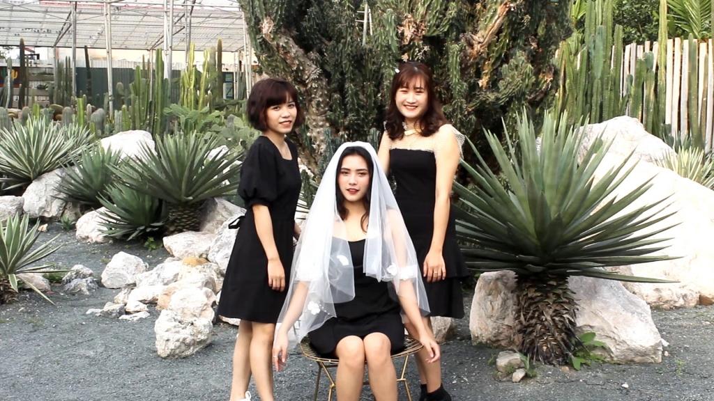 Nhiều phong cách khách nhau được lựa chọn để chụp ảnh tại vườn xương rồng