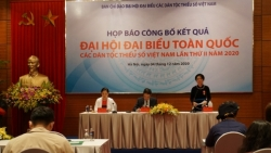 Họp báo công bố kết quả Đại hội Đại biểu toàn quốc các Dân tộc thiểu số Việt Nam lần thứ II