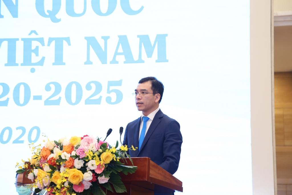 Anh Hà Anh Đức, tân Chủ tịch Hội Thầy thuốc trẻ Việt Nam nhiệm kỳ 2020-2025
