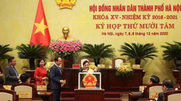 Hà Nội kiện toàn chức danh 5 Phó Chủ tịch UBND thành phố