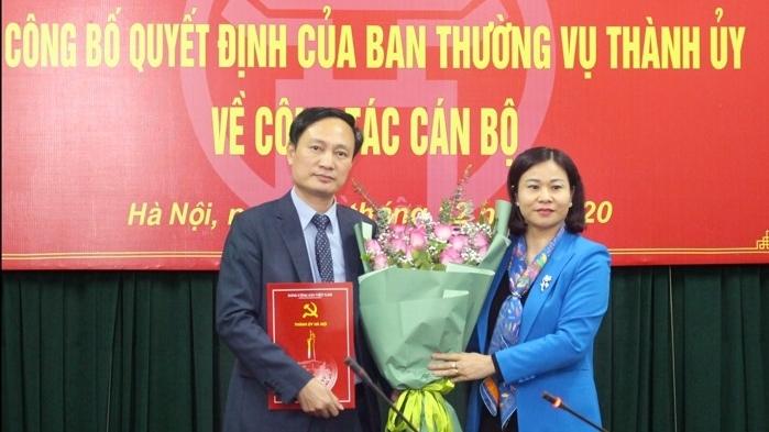 PGS. TS Phạm Minh Anh giữ chức Hiệu trưởng trường Đào tạo cán bộ Lê Hồng Phong