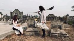 Chụp ảnh cưới tại nghĩa trang: Bộ ảnh độc lạ hay làm phiền cộng đồng?