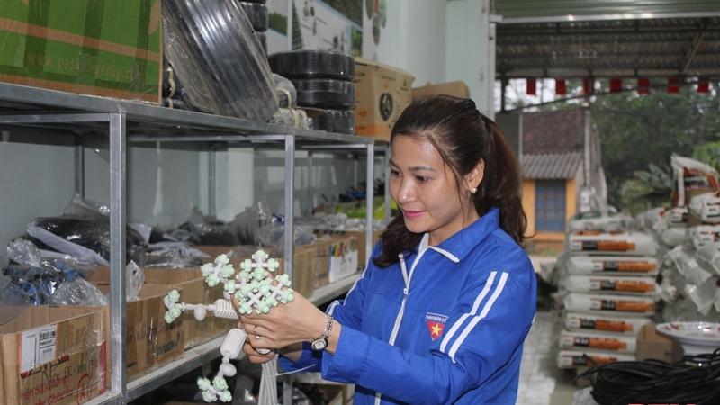 Không đi theo lối mòn, cô gái trẻ làm nông nghiệp bằng công nghệ cao