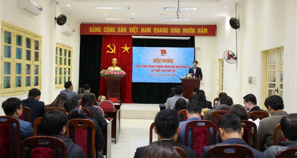 Hội nghị Ban chấp hành Thành đoàn Hà Nội khóa XV, lần thứ 19lần thứ