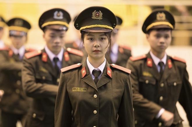 Nữ thủ khoa tài năng của Học viện An ninh nhân dân
