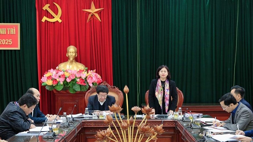 Thành lập và kiện toàn ban chỉ đạo xây dựng huyện Thanh Trì phát triển lên quận