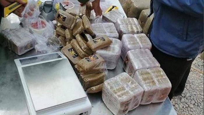 Ma túy được vận chuyển qua đường biển (ảnh internet)