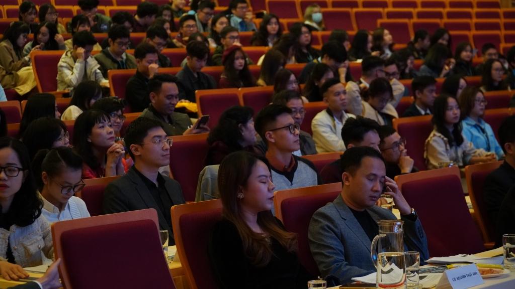 Chương trình thu hút sự quan tâm của nhiều bạn trẻ
