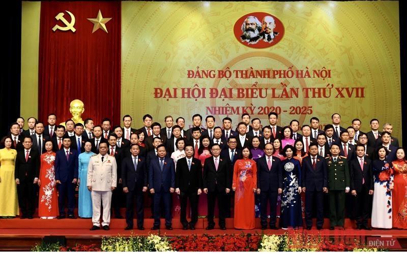 Hà Nội tổ chức thành công đại hội đảng bộ các cấp và Đại hội đại biểu lần thứ XVII Đảng bộ thành phố